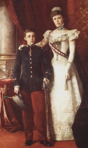 1 peseta 1885 *(18-86)- Alfonso XII, la regencia de María Cristina de Habsburgo Image