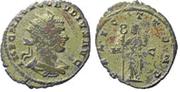 Antoniniano de Claudio II El Gótico. FELICIT TEMP. Feliciditas estante a izq. Ceca Cyzicus. Image