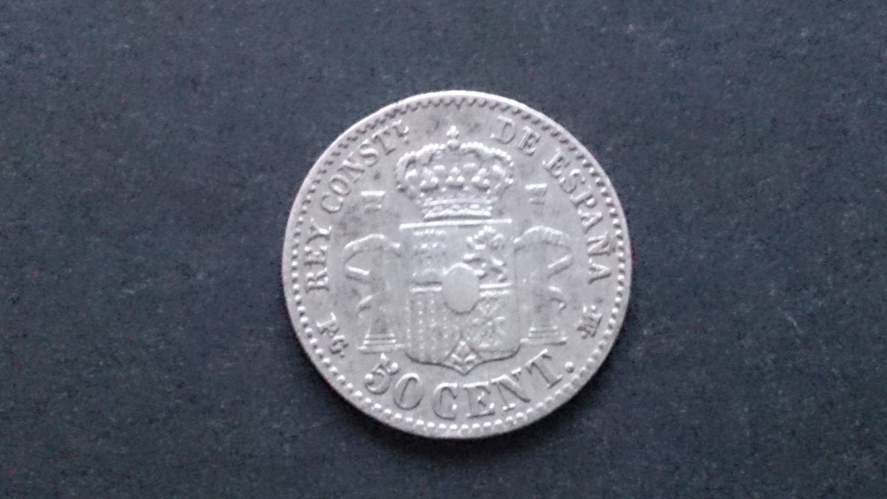 50 centimos 1892  (*9*2). Alfonso XIII. DSC_0619