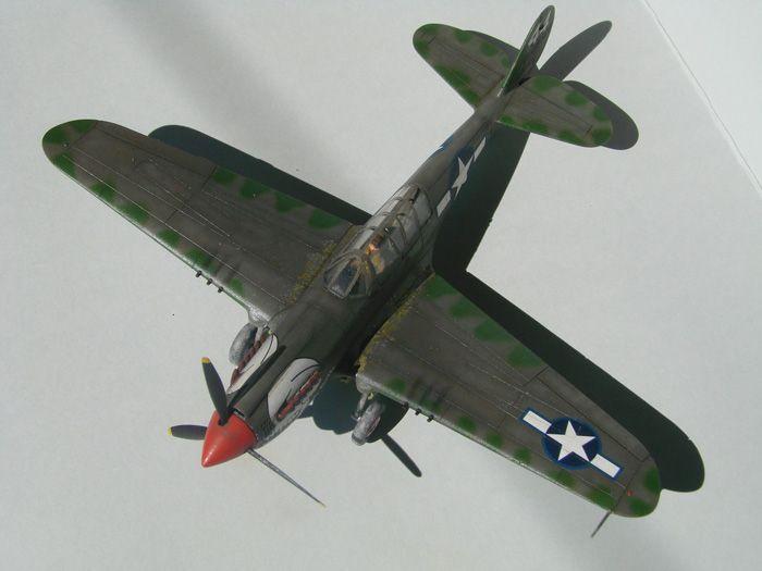 P-40N(rebuild), Hasegawa, 1/72 DSC03742