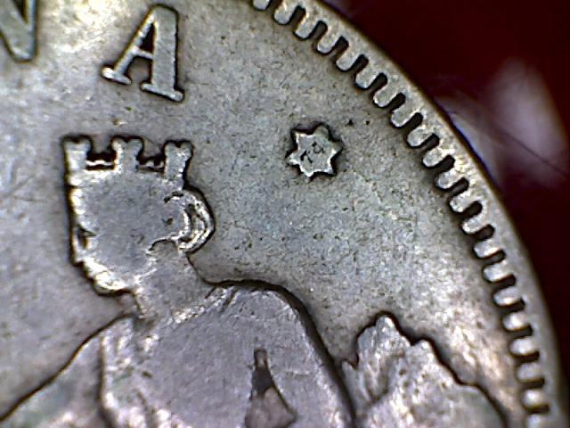 2 Pesetas 1870 (* 18-7?). DEM. Gobierno Provisional. 2_pesetas_1870estrella74