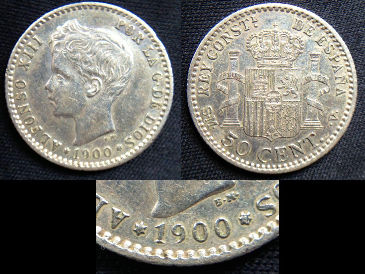 50 céntimos 1900- SM-V -Alfonso XIII 50_c_ntimos_1900