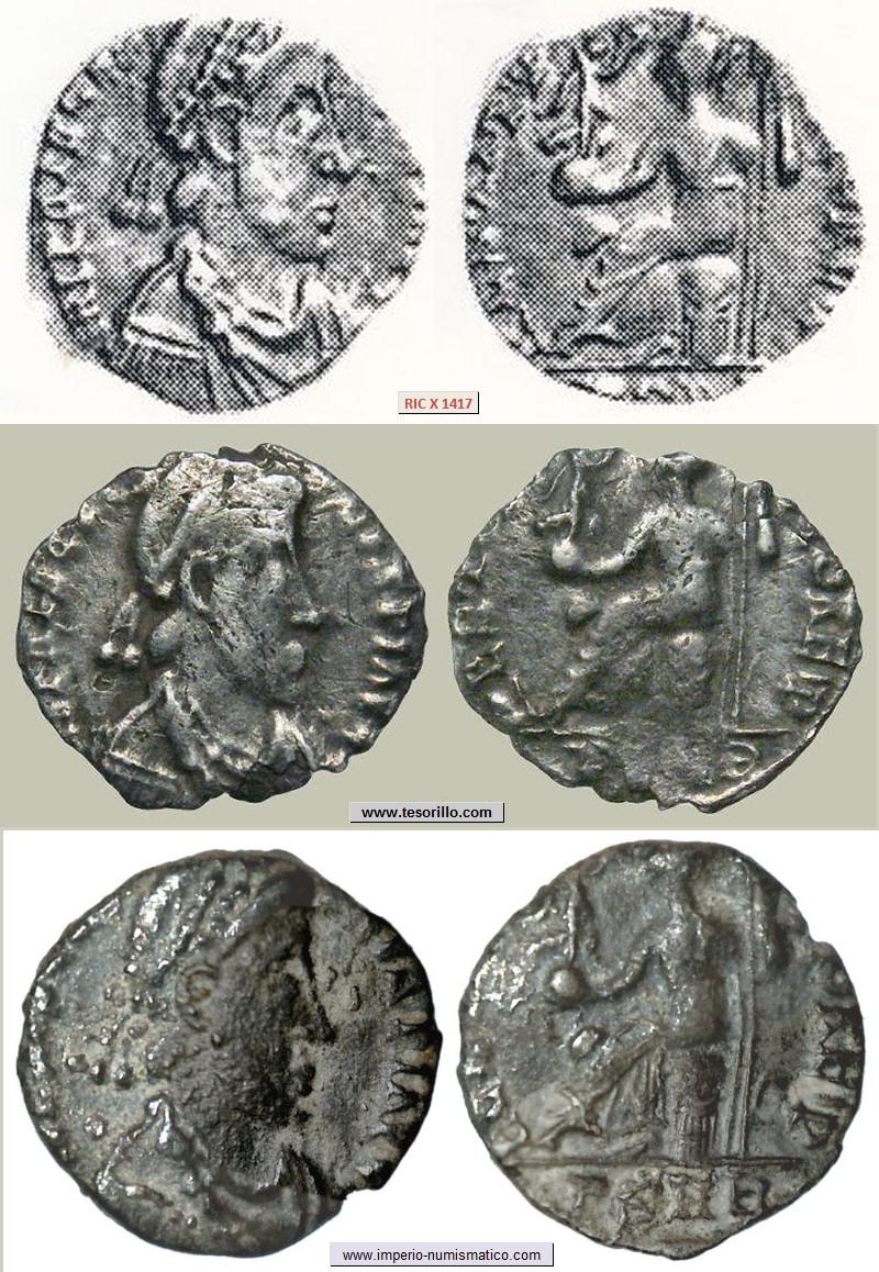 Silicua de Prisco Atalo RESTITVTIO REIP - Narbona Priscus_RIC