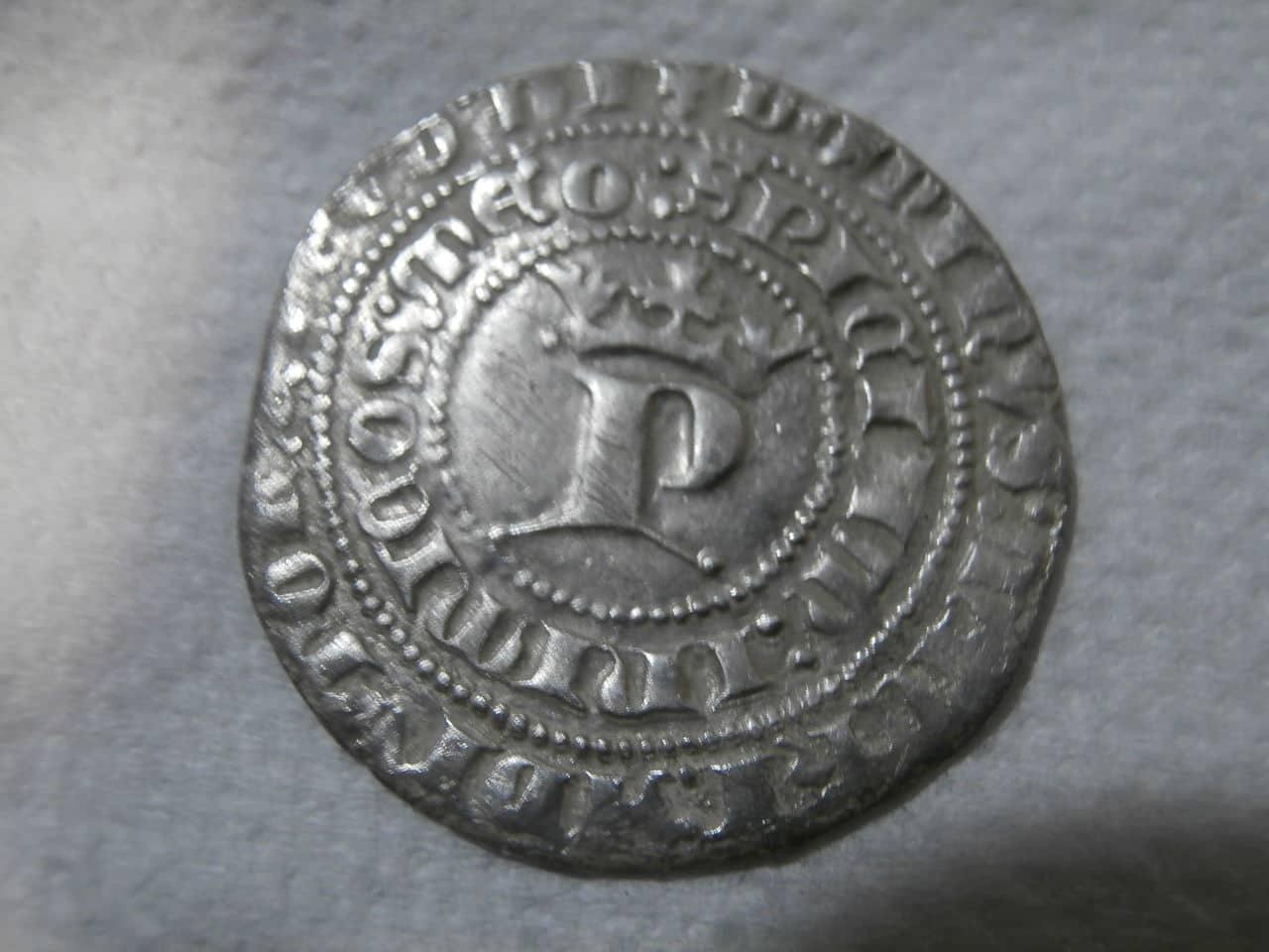 Real de Pedro I de Castilla 1350-1369 Sevilla. P2200194