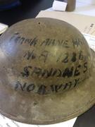 Brodie helmet found in a yard sale 17101423_10155065913592806_381611805_o