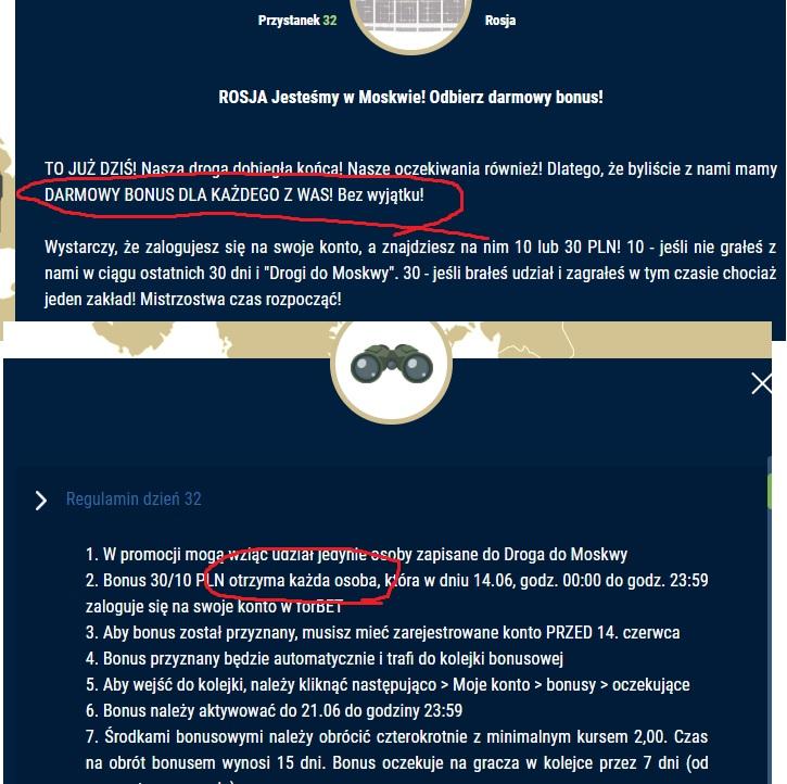 ForBET - 20 zł darmowy bonus za rejestrację. - Page 5 Forbet