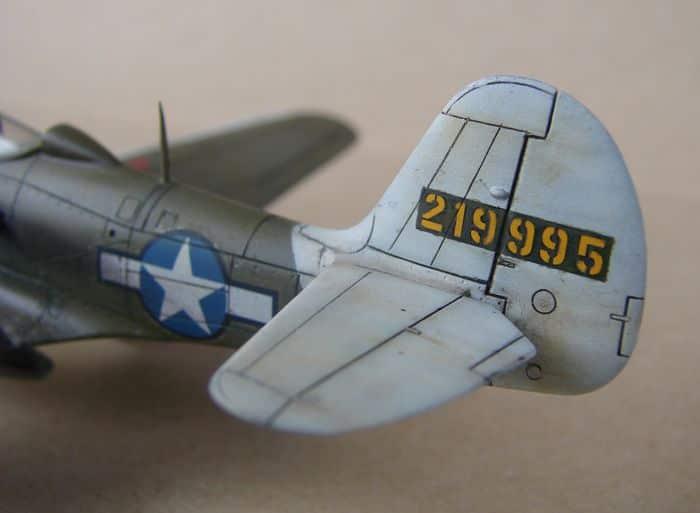P-39Q Airacobra, 1/72, Academy (rebuild) DSC02947