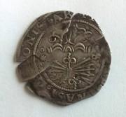 1 real a nombre de los Reyes Católicos, Sevilla Reverso