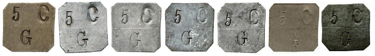 Moneda de 5 Cts. Gratallops rarísima 5_C_ntimos_b