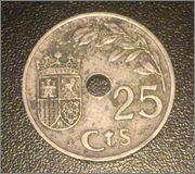 25 CENTIMOS 1937 II AÑO TRIUNFAL DSC_0077