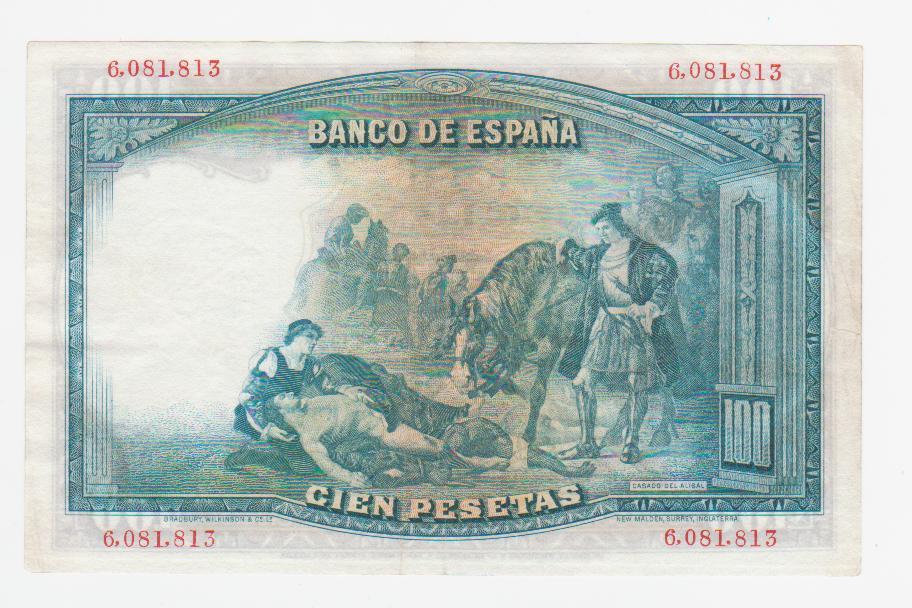 100 Pesetas 1931, verde (Color manipulado) 100_pesetas_1931_verde_001