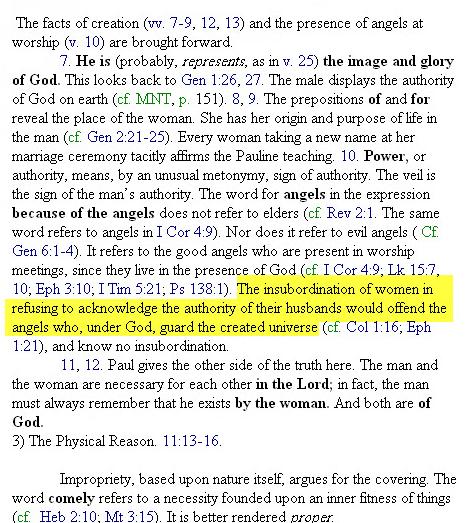 Femme en Christianisme est juste un déchet Image