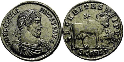 Glosario de monedas romanas. DOBLE MAIORINA. Image