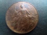 5 centimes  1901. Francia IMG_20180819_203426