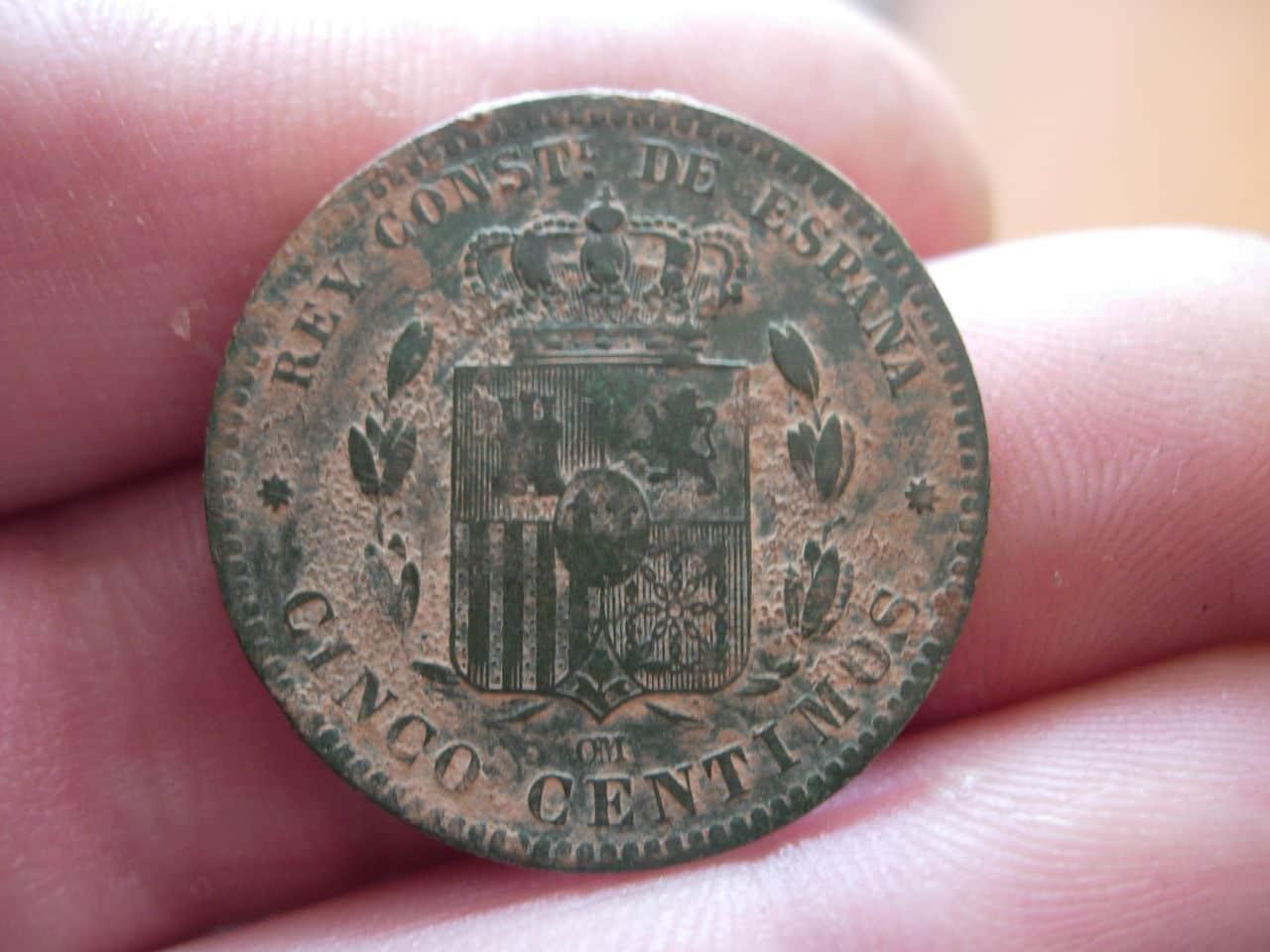 5 céntimos Alfonso XII. 1879 Imagen_030