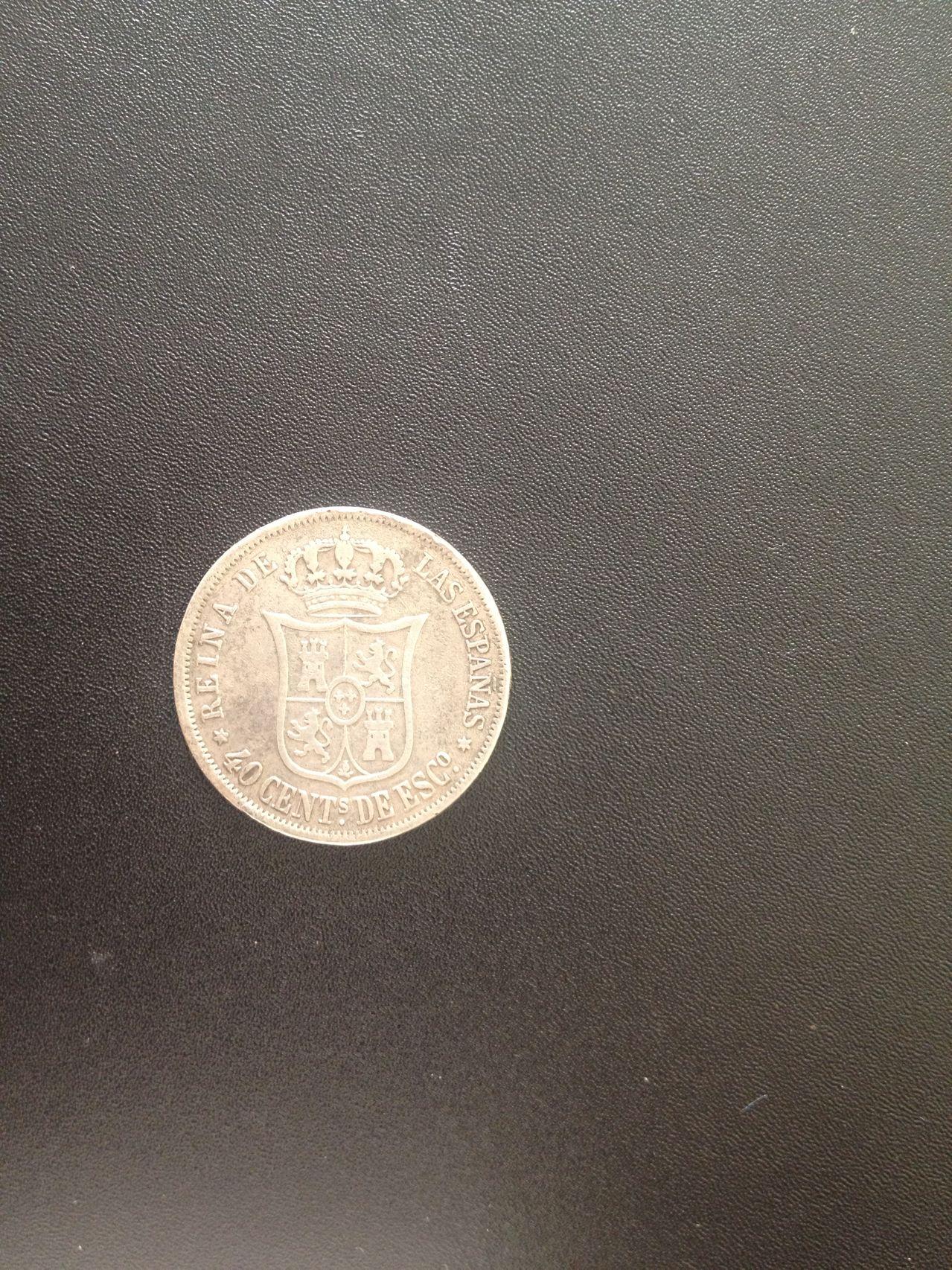 40 Centimos de escudo 1866 Isabel II - Madrid. IMG_2187