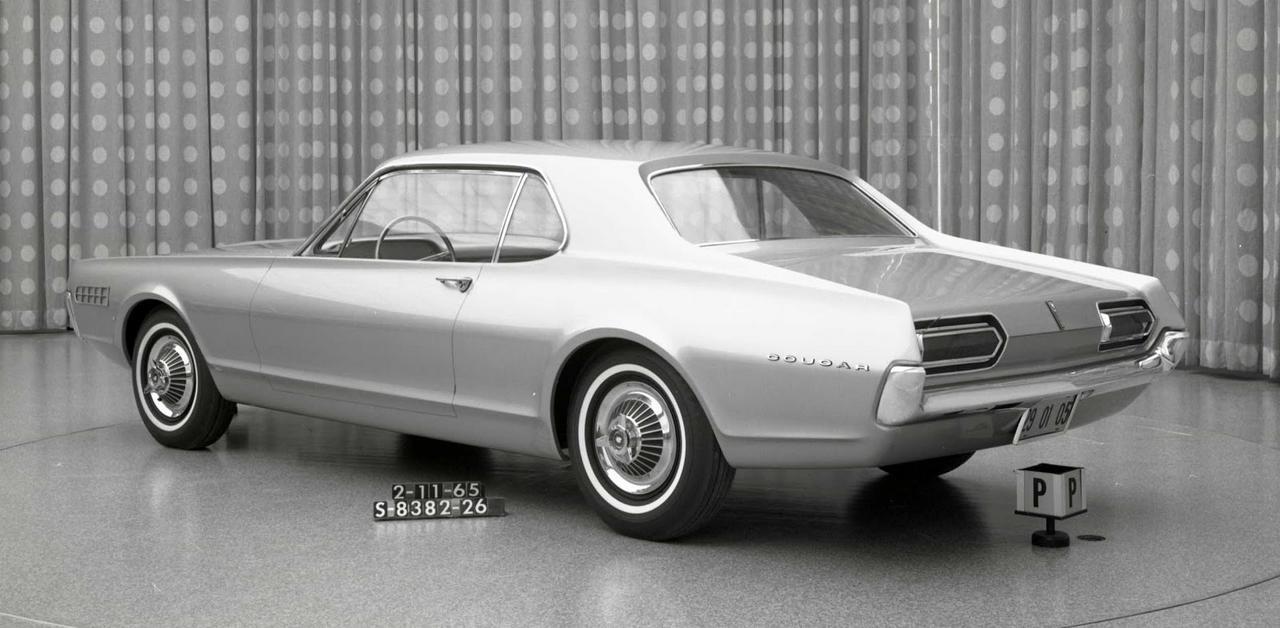 pour se rincer l'oeil - Page 4 007-cougar-development-february-1965-mockup-driver-side-rear-thr