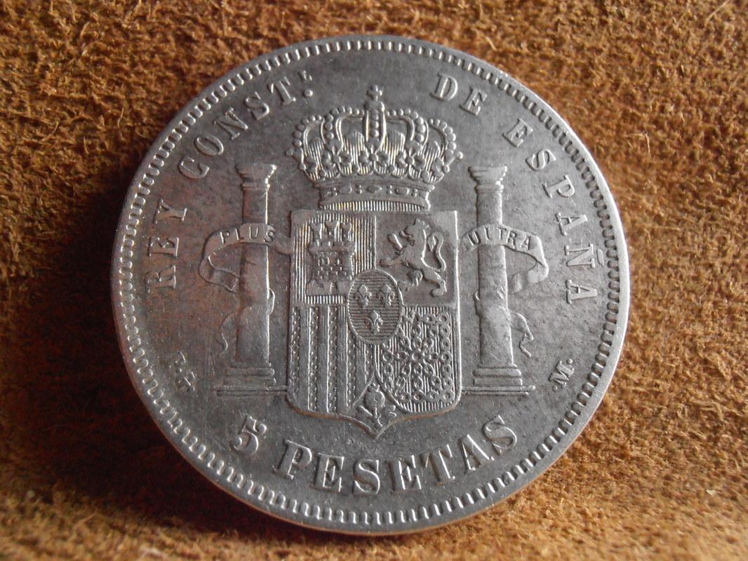 5 Pesetas 1891. Alfonso XIII P3310005