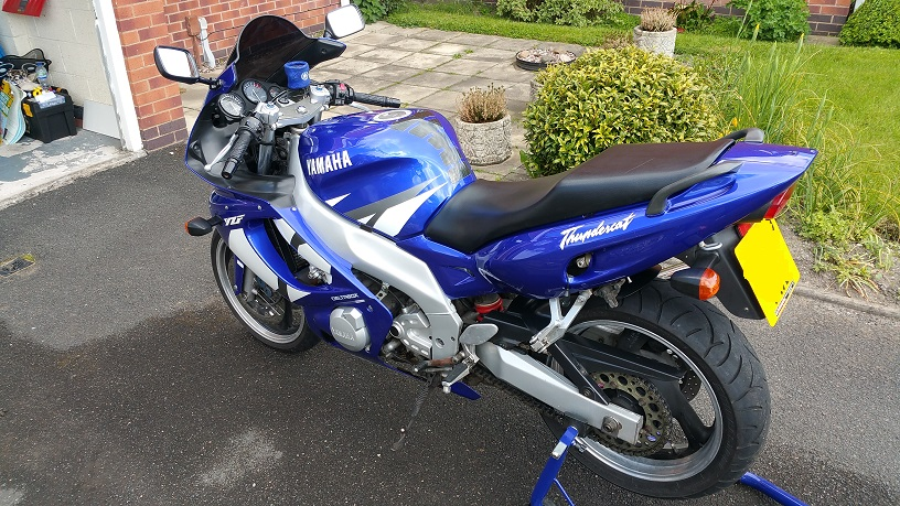 2002 Blue/White T'Cat For Sale 20150516_151341