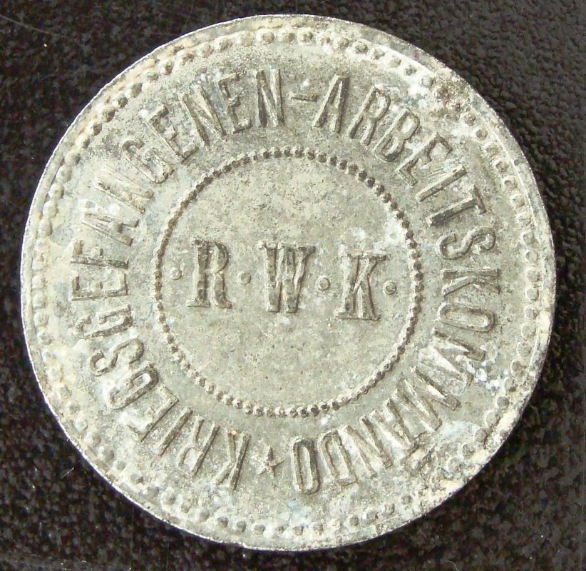 10 Pfennig. Alemania (N.D.) Campo de prisioneros I Guerra Mundial ALE._10_Pfennig_ND_Campo_prisioneros_I_G.M._-_anv