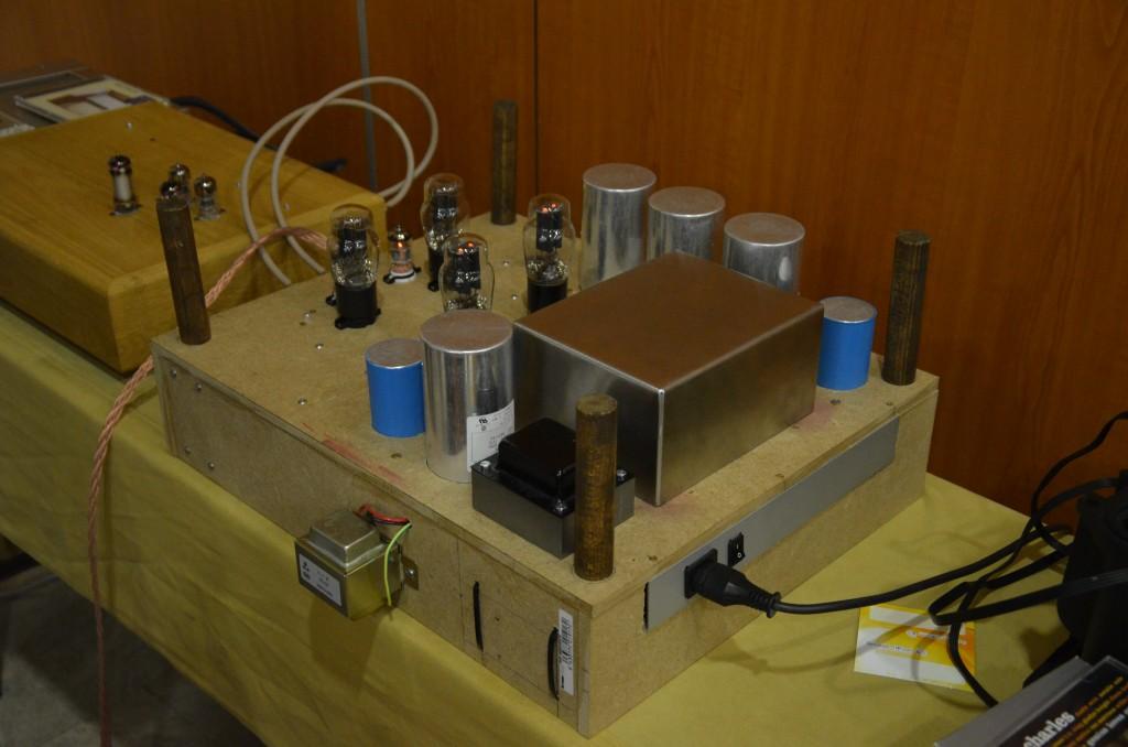 Triodeproject Prototipo Single End 2W para auriculares. Cc83a9a37b4c479e4adb921136674197