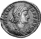 Glosario de monedas romanas. DOMINUS NOSTER - D N. Image