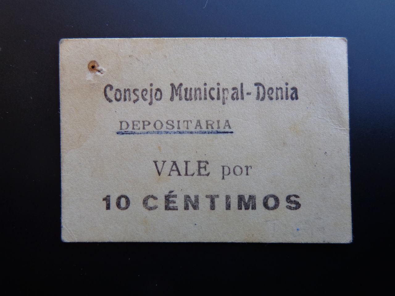 10 Centimos Denia (Alicante), 1937 DSC00471