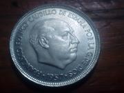 5 pesetas 1957 (*58). Estado Español. La primera pequeña. IMG_20180815_185002