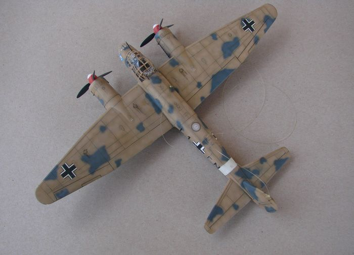 Junkers Ju-88A-4, Revell(rebuild), 1/72 DSC03190