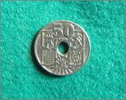 50 Centimos - España 1949 P3100121