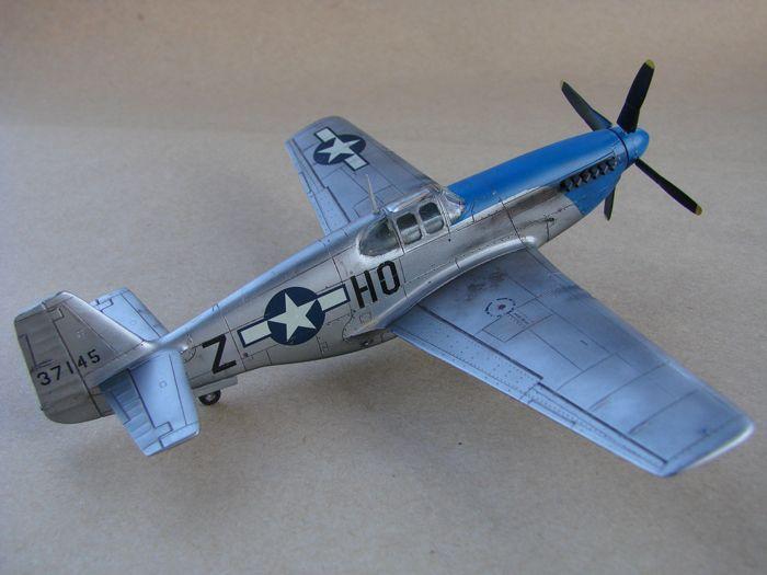 Mustang x2 P-51B Revell & P-51D Tamiya, 1/72 DSC09770