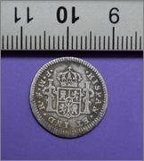 1/2 real 1772. Carlos III. Méjico Espa_ola_3_plata_reverso