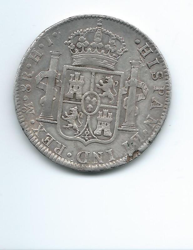8 reales de Fernando VII año 1811 Image