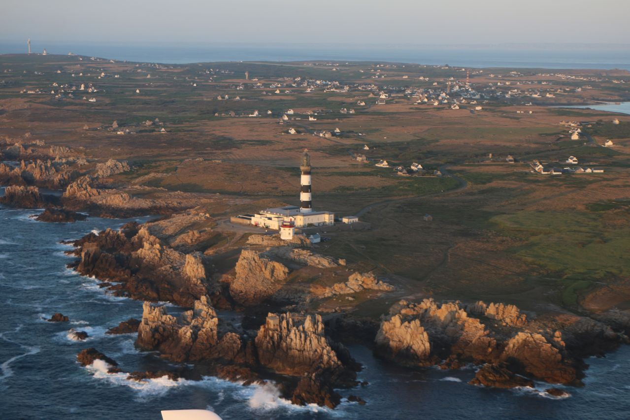 Un petit bout de la Bretagne vue d'en haut Image