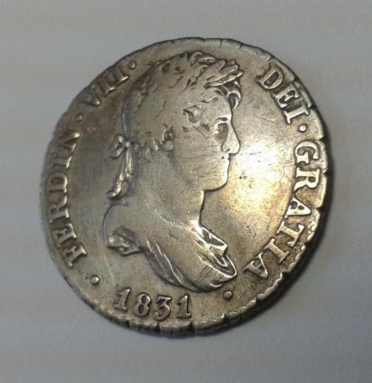 1 Real 1831 - Fernando VII 20141025_140556