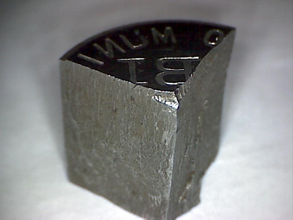 Pruebas de las monedas de 1 peseta de Ibi en níquel Image