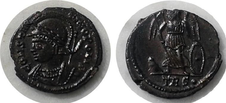 AE3 conmemorativo de Constantinopla Constantinoplis