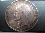 5 Francos 1853. Leopoldo I. Bélgica. IMG_20180826_183141