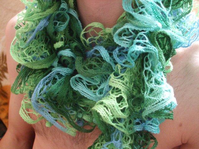 Вязаная шаль, шарфы - Страница 4 5c091f38aa3c