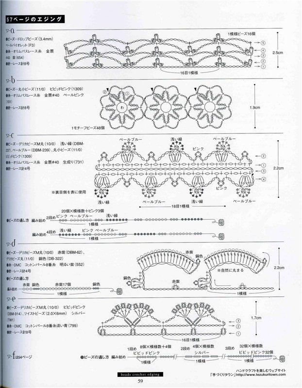 Dekoratyvines juosteles su biseriu B7361c5f3647