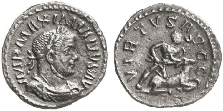 Denominación de monedas en la antigua Roma: El Bajo Imperio. 0_0laureado_de_bronce