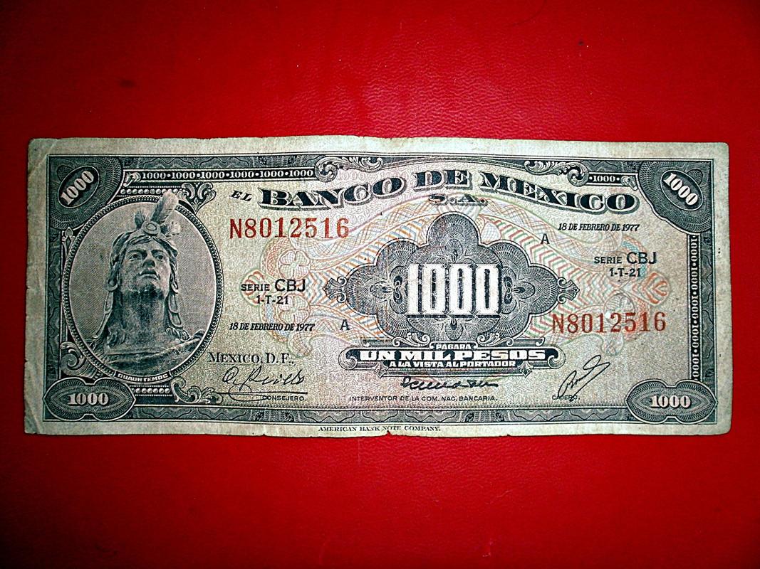 billete de mexico de 1977 P8020004