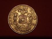 20 Centavos. Chile. 1876. Santiago de Chile P2253438