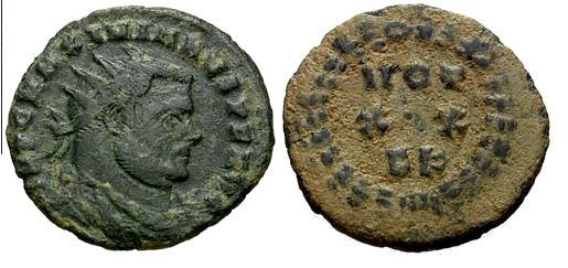Denominación de monedas en la antigua Roma: El Bajo Imperio. 0_0radiado
