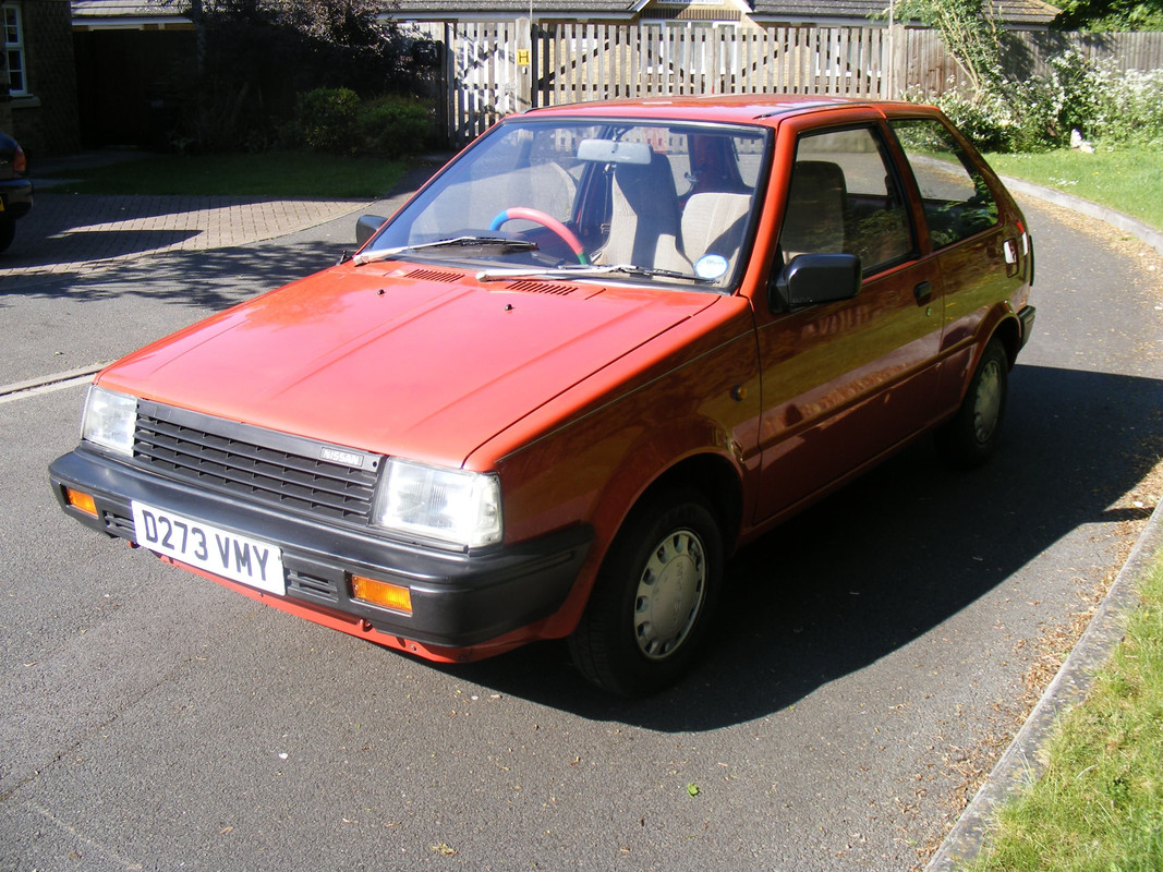 what cars have you owned? Nissan_Micra_1986