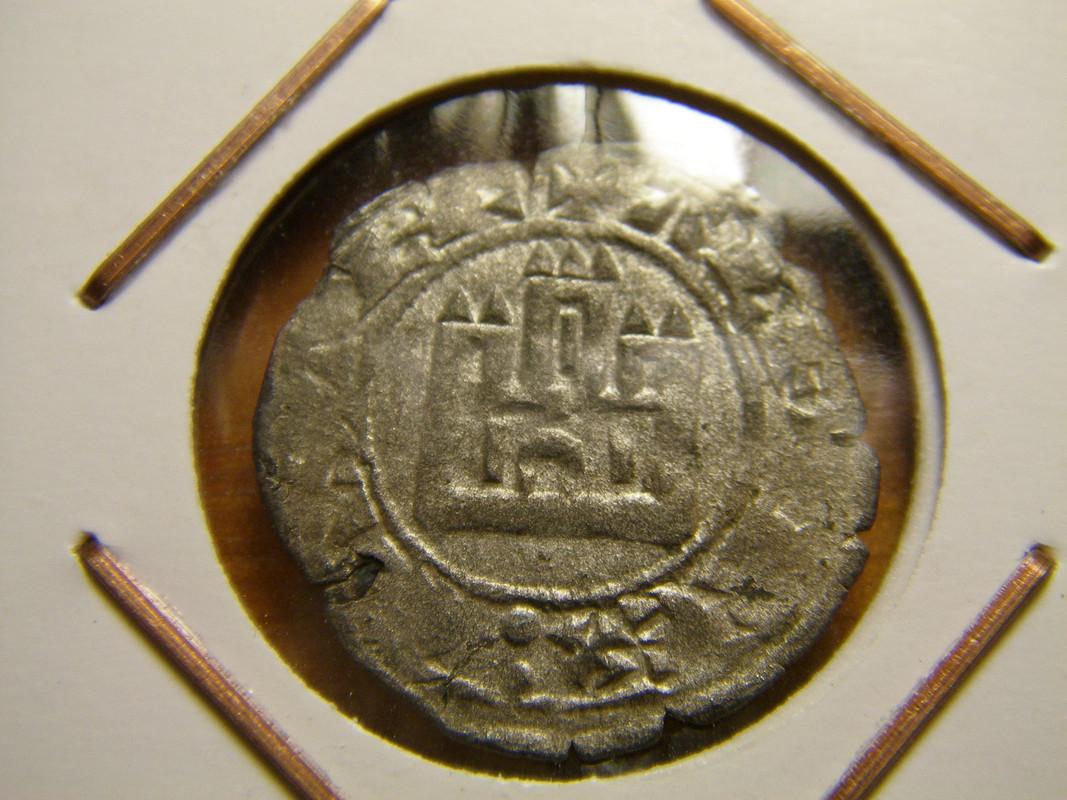 Dinero ''prieto'' de Alfonso X. (1252-1284). Sin ceca. P1010004_2