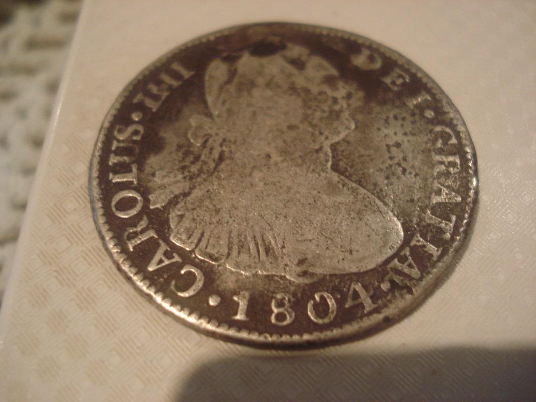 4 reales 1804. Carlos IV. Potosí Otras_003