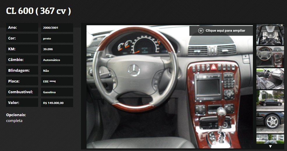 C215 CL600 2000/2001 - R$ 149.000,00 Screenshot_174