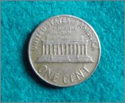 Lincoln Memorial 1966 one cent P3100091