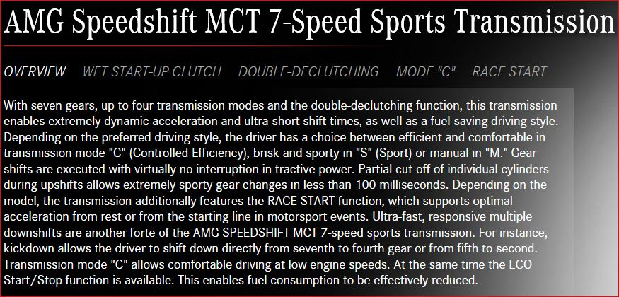 Cambio 7G DCT (Classes A, B, GLA e CLA) - Impressões e detalhes técnicos Transmission_MCT